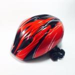 หมวกโฟม Kasto ป้องกันการกระแทก สีแดงดำ Size S/M