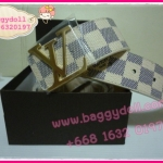 Louis Vuitton Azur Damier Canvas Belt **เกรดท๊อปพรีเมี่ยม**