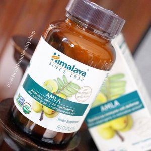 # ขาวเร็ว # Himalaya Herbal Healthcare, Amla C, Natural Antioxidant, 60 Caplets