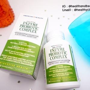 # อึแข็ง # American Health, Enzyme Probiotic Complex, 90 Veggie Caps
