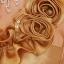 พร้อมส่ง ชุดราตรีสั้น ไหล่เฉียง เข้ารูป สีทอง ตีเกล็ดตลอดช่วงตัว แต่งระบายดอกไม้แนวไหล่ thumbnail 5