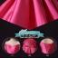 พร้อมส่ง ชุดราตรีสั้น แบบปาดไหล่ ผ้าซาตินเรียบหรู กระโปรงทรงA แต่งโบว์2ชั้น ช่วงเอว สีชมพู Hot pink (เชือกผูกหลัง) thumbnail 9