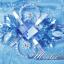 พร้อมเช่า ชุดแฟนซี ชุดราตรียาว สีฟ้า เกาะอก แต่งระบาย กระโปรงพองสวย ซิปหลัง thumbnail 6