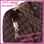 Louis Vuitton Damier Canvas Speedy 30 **เกรดท๊อปมิลเลอร์** (Hi-End) thumbnail 7