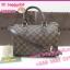 Louis Vuitton Damier Canvas Speedy Bandoulire **เกรดท้อปพรีเมี่ยม** thumbnail 4