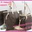 Louis Vuitton Monogram Canvas Neverfull MM ด้านในสีครีม **เกรดท๊อปมิลเลอร์** (Hi-End) thumbnail 12