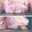 พร้อมเช่า ชุดแฟนซียาว แบบแขนยาว จั๊มปลายแขนน่ารักมาก เนื้อผ้าเป็นตาข่ายแบบซีทรู แต่งดอกและลูกปัด สีม่วง (ซิปหลัง) thumbnail 9