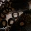 พร้อมส่ง ชุดเดรสแขนสั้น เข้ารูป สีดำ ผ้าชีฟอง กระโปรงลูกไม้ (แถมเข็มขัด) thumbnail 9