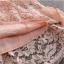 พร้อมส่ง ชุดราตรีสั้น/แขนยาว คอวี เนื้อผ้าลูกไม้ & Cotton แต่งซิปข้าง สีแดง (เหลือเฉพาะไซส์ 3XL) thumbnail 12