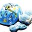 รองเท้าสเก็ต rollerblade รุ่น MCF สีฟ้า-ขาว Size S *พร้อมเซทป้องกันสุดคุ้ม สำเนา thumbnail 5