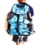 กระเป๋าเป้ DENUONISS สีฟ้าลายทหาร รหัส DO-5 thumbnail 1