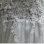 พร้อมเช่า ชุดราตรียาว แบบแขนกุด ช่วงอกปักลูกไม้แต่งลูกปัดหรู ตัวกระโปรงยาวผ้าตาข่าย สวยพริ้ว สีเทา thumbnail 11