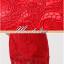 พร้อมส่ง ชุดราตรียาว สีแดง ลูกไม้ทัั้งตัว เปิดไหล่ แขนสามส่วน thumbnail 11