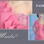 พร้อมส่ง ชุดราตรีสั้น เกาะอก ไหล่เดียว สีชมพู ผ้าซาตินเข้ารูป ปักเลื่อมสวยหรู thumbnail 10