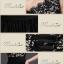พร้อมเช่า ชุดราตรียาว ไหล่เดียว อกแต่งลูกไม้ ประดับคริสตัลหรู กระโปรงเนื้อนิ่มผ้ามัน สีดำ thumbnail 9