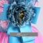 พร้อมเช่า ชุดแฟนซี ชุดราตรี เกาะอก สีชมพู ฟ้า Pastel สุดหวาน แต่งระบายกระโปรง thumbnail 7