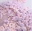 พร้อมเช่า ชุดแฟนซีสั้น แบบแขนกุด เนื้อผ้าเป็นตาข่ายแบบซีทรู แต่งดอกและลูกปัด สีม่วง (เชือกผูกหลัง) thumbnail 10