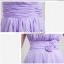 พร้อมเช่า ชุดราตรียาว ชุดเพื่อนเจ้าสาว สีม่วงอ่อน Lavender Lv-002E thumbnail 4