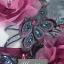 พร้อมเช่า ชุดแฟนซี ชุดราตรียาว ไหล่เฉียง สีฟ้ามิ้นต์ แต่งผ้าโปรงสีม่วง ประดับเลื่อมและดอกไม้ thumbnail 5