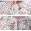 พร้อมเช่า ชุดแฟนซี ชุดเจ้าสาว ชุดราตรีสั้น แขนกุด สีขาว กระโปรงระบาย แต่งลูกไม้ปักเลื่อม น่ารักมาก (ซิปหลัง แต่งกระดุม) thumbnail 8