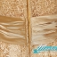 พร้อมเช่า ชุดราตรียาว แขนยาว แต่งลูกไม้ฉลุ ผาคาดเอวซาติน สีทอง สวยเรียบหรู thumbnail 18