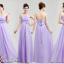 พร้อมเช่า ชุดราตรียาว ชุดเพื่อนเจ้าสาว สีม่วงอ่อน Lavender Lv-002B thumbnail 2
