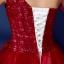 พร้อมเช่า ชุดแฟนซี ชุดราตรียาว สีแดง ไหล่เฉียง ตัวชุดเป็นผ้าแก้ว แต่งดอกสวย ไหล่ซ้ายมีโบว์ เชือกผูกหลัง thumbnail 11