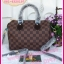 Louis Vuitton Damier Canvas Speedy Bandoulire **เกรดท้อปพรีเมี่ยม** thumbnail 1