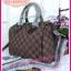 Louis Vuitton Damier Canvas Speedy Bandoulire **เกรดท้อปพรีเมี่ยม** thumbnail 2