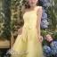 Pre-order ชุดราตรีสั้น ชุดเพื่อนเจ้าสาว หน้าสั้นหลังยาว สีเหลือง Yellow-001 thumbnail 25