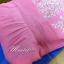 พร้อมเช่า ชุดราตรียาว แบบปาดไหล่/แขนยาว สีชมพู แต่งลูกไม้ปักเลื่อมลายใบไม้ ผ้าชีฟอง ซิปหลัง (ดูสีจริงได้ข้างล่าง) thumbnail 6