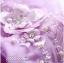 พร้อมเช่า ชุดแฟนซียาว แบบแขนยาว จั๊มปลายแขนน่ารักมาก เนื้อผ้าเป็นตาข่ายแบบซีทรู แต่งดอกและลูกปัด สีม่วง (ซิปหลัง) thumbnail 11
