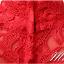 พร้อมเช่า ชุดราตรีสั้น สีชมพู แขนสั้น คอจีน ลูกไม้ฉลุ กระโปรงผ้าชีฟอง thumbnail 6