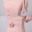 Pre-order ชุดราตรียาว สีชมพูอ่อน ชุดเพื่อนเจ้าสาว Pink-002 thumbnail 40