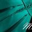 พร้อมส่ง ชุดราตรีสั้น แบบไหล่ปาด แขนยาว ผ้าซาติน แต่งลูกไม้สวยหรู สีเขียว (เชือกผูกหลัง) thumbnail 2
