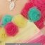 พร้อมเช่า ชุดแฟนซี เช่า 500 ชุดราตรีสั้น ลายทาง สีลูกกวาด แต่งดอกไม้ thumbnail 5