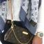 Louis Vuitton Damier Canvas Eva Clutch Bag **เกรดท๊อปมิลเลอร์** (Hi-End) thumbnail 9