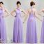 พร้อมเช่า ชุดราตรียาว ชุดเพื่อนเจ้าสาว สีม่วงอ่อน Lavender Lv-002E thumbnail 2