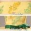 พร้อมเช่า ชุดแฟนซี ชุดราตรียาว แบบเกาะอก กรโปรงผ้าแก้ว สีเหลือง+ชมพู อกแต่งลูกปัดหรู โบว์คาดเอวสีเขียว thumbnail 15