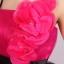 พร้อมเช่า ชุดแฟนซี ชุดราตรียาว แบบสายเดี่ยว สีชมพูเข้ม แต่งดอกช่วงอก ผ้าคาดเอวสีดำผูกเป็นโบว์เก๋ แต่งผ้าตาข่ายสีดำ (ไม่รวมโบว์ติดผม) thumbnail 8