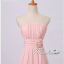 Pre-order ชุดราตรียาว สีชมพูอ่อน ชุดเพื่อนเจ้าสาว Pink-002 thumbnail 12
