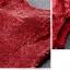 พร้อมเช่า ชุดราตรียาว แบบแขนสั้น ผ้าหลัง สีเทา เนื้อผ้าแต่งเลื่อมทั้งตัว ทรงหางปลา thumbnail 42