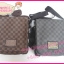 Louis Vuitton Damier Graphite Canvas Brooklyn PM,MM,GM **เกรดท้อปพรีเมี่ยม** thumbnail 7