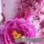 พร้อมเช่า ชุดแฟนซี ชุดราตรี สีชมพูอมม่วง กลีบบัว แต่งดอก Peony thumbnail 9