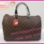 Louis Vuitton Damier Canvas Speedy Bandoulire **เกรดท้อปพรีเมี่ยม** thumbnail 12