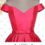 พร้อมส่ง ชุดราตรีสั้น แบบปาดไหล่ ผ้าซาตินเรียบหรู กระโปรงทรงA แต่งโบว์2ชั้น ช่วงเอว สีชมพู Hot pink (เชือกผูกหลัง) thumbnail 17