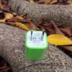 หัวปลั๊กเต๋า Iphone -สีเขียวอ่อน