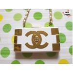 Power bank Chanel C5 12000 Mah-สีทอง