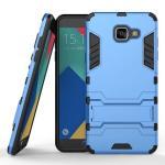 เคส Samsung Galaxy A5 2016 เคสกันกระแทกแยกประกอบ 2 ชิ้น ด้านในเป็นซิลิโคนสีดำ ด้านนอกพลาสติกเคลือบเงาโลหะเมทัลลิค แบบที่ 2