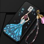 เคส Samsung Note 3 พลาสติกลายผู้หญิงแสนสวย พร้อมที่คล้องมือ สวยมากๆ แบบที่ 3